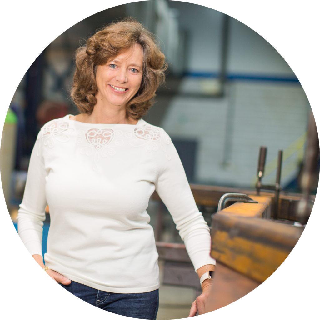 Christine Wauben - ten Rouwelaar staalconstructiebedrijf den haag