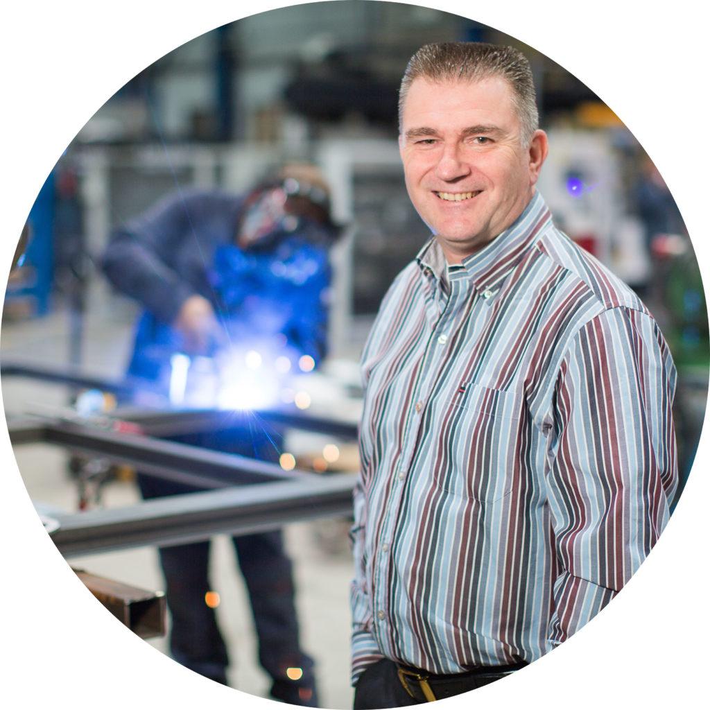 Sjef Wauben staalconstructiebedrijf den haag